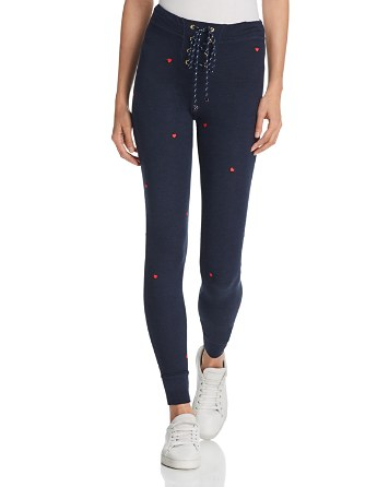 $Sundry Heart Lace-Up Jogger Pants - Bloomingdale's