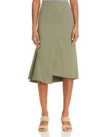 Theory - Reconstructed Midi Skirt