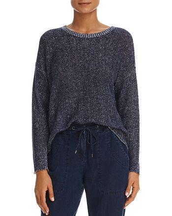Eileen Fisher - Marled Organic Linen Sweater
