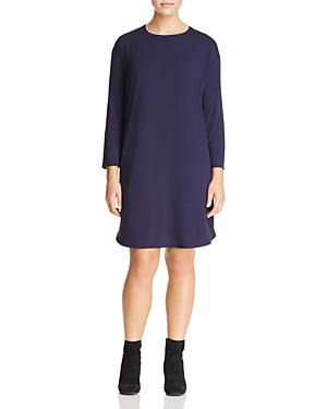 Eileen Fisher Plus Drop-Shoulder Tee Dress