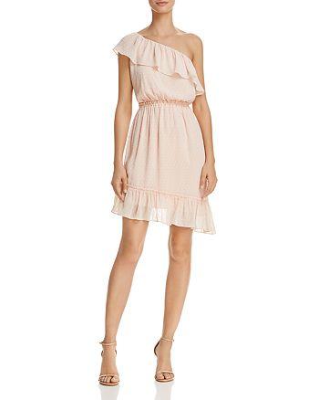 AQUA - Ruffled One-Shoulder Dress - 100% Exclusive