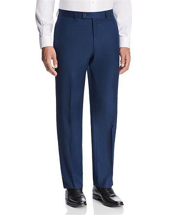 Michael Kors - Textured Solid Classic Fit Suit Pants - 100% Exclusive