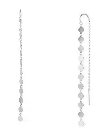 Argento Vivo - Station Threader Earrings