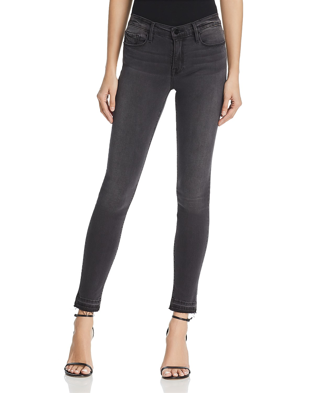 FRAME Le Skinny de Jeanne Crop Released Hem Jeans in Creston ...