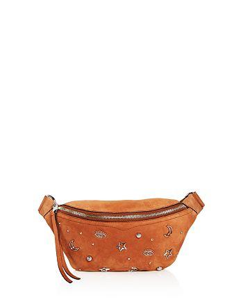 Rebecca Minkoff - Bree Charm-Embellished Nubuck Belt Bag - 100% Exclusive