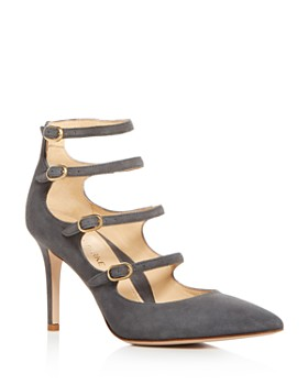 MARION PARKE - Women's Mitchell Strappy Mary Jane High-Heel Pumps