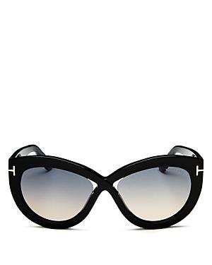 Tom Ford Women's Diane Cat Eye Sunglasses, 56mm