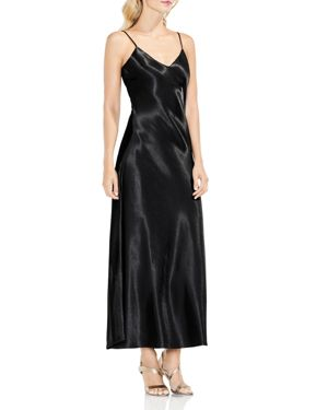 Vince Camuto Hammered Satin Maxi Slip Dress 2760539