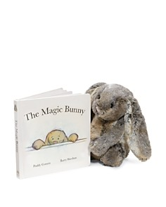 Jellycat - Woodland Bunny & The Magic Bunny Book - Ages 0+