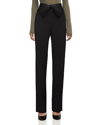 BCBGMAXAZRIA - Marlena High-Waist Tuxedo Pants