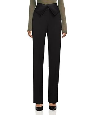 Bcbgmaxazria Marlena High-Waist Tuxedo Pants