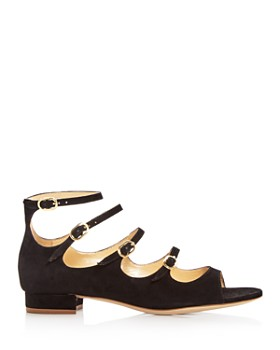 MARION PARKE - Women's Joni Suede Strappy Mary Jane Sandals