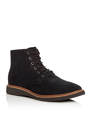 Toms Men's Porter Suede Lace Up Boots