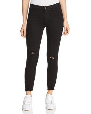 J Brand 835 Mid Rise Capri Jeans in Overexposure