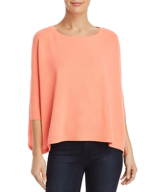 Minnie Rose Cropped Cashmere Sweater