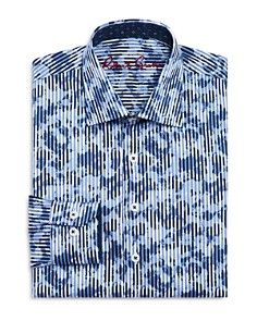 Robert Graham Boys' Printed Striped Dress Shirt - Big Kid - Bloomingdale's_0