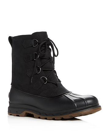 f16438f23c4 Sorel Men's Portzman Classic Waterproof Suede & Leather Lace Up ...