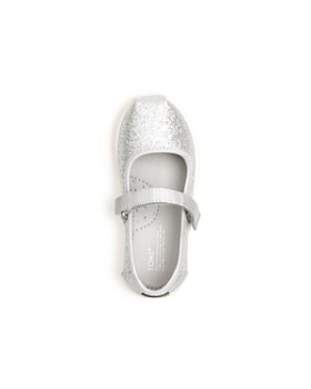 TOMS - Girls' Glimmer Glitter Mary Jane Flats - Baby, Walker, Toddler
