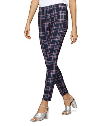 Sanctuary - Plaid Capri Leggings