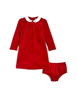 Ralph Lauren Childrenswear Girls Velour Dress  Bloomers Set  Baby