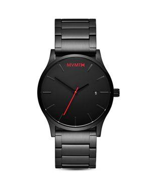 MVMT Classic Series Watch, 45Mm in Black/ Black