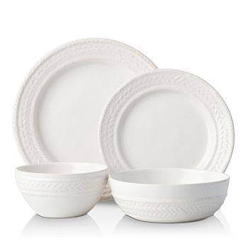 Juliska - Le Panier Whitewash 4-Piece Place Setting