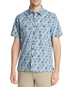Michael Bastian Palm Tree Short Sleeve Shirt - 100% Exclusive - Bloomingdale's_0