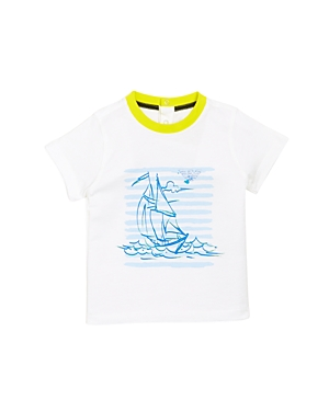 Armani Junior Boys' Sailboat Graphic Tee - Baby