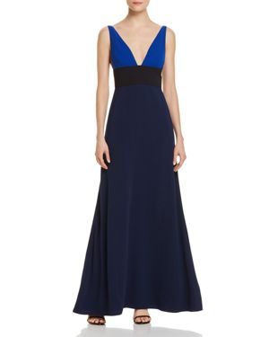 Jill Stuart Color Block Gown