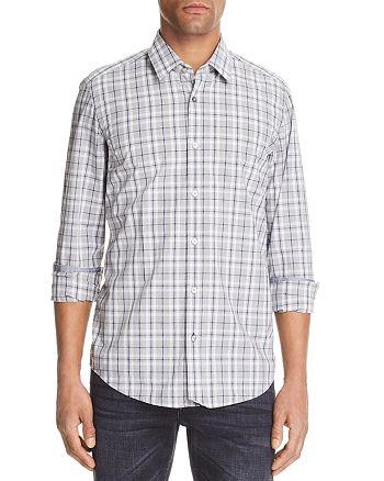 BOSS - Lukas Plaid Long Sleeve Button-Down Shirt