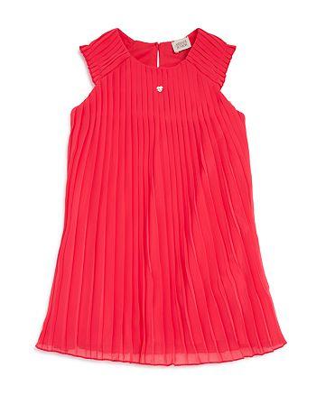 Armani Junior - Girls' Sleeveless Pleated Dress - Big Kid