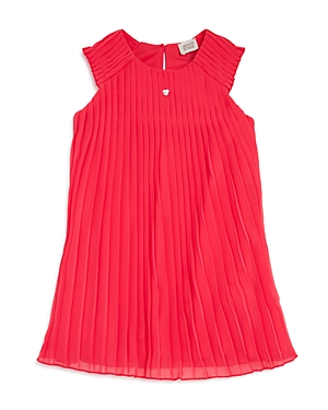 Armani Junior Girls Sleeveless Pleated Dress  Big Kid