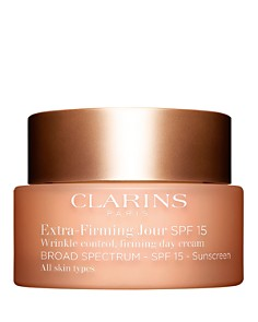 Clarins - Extra-Firming Day Wrinkle Control Firming Cream Broad Spectrum SPF 15 for All Skin Types