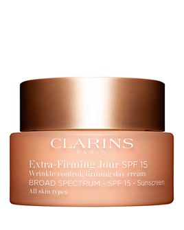 Clarins - Extra-Firming Day Wrinkle Control Firming Cream Broad Spectrum SPF 15 for All Skin Types 1.7 oz.