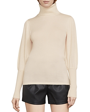 Bcbgmaxazria Zanzi Bishop-Sleeve Turtleneck Sweater