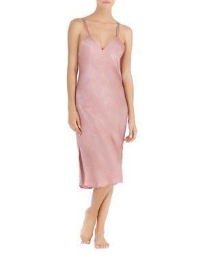 Midnight Bakery Shimmer Satin Midi Gown