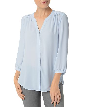 NYDJ - Pleat Back Blouse