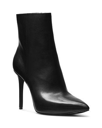 MICHAEL Michael Kors - Leona Leather High-Heel Booties