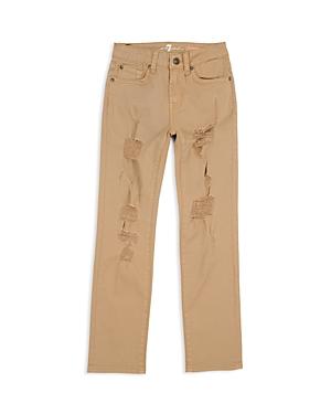 7 For All Mankind Boys' Distressed Twill Pants - Little Kid, Big Kid