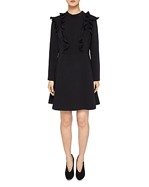 Ted Baker  FASHAL RUFFLE-TRIMMED DRESS