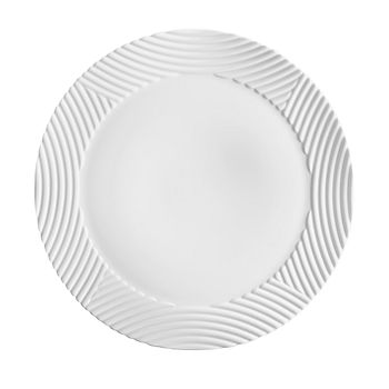 L'Objet - Corde White Wide Charger Plate