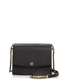Tory Burch - Robinson Convertible Leather Shoulder Bag