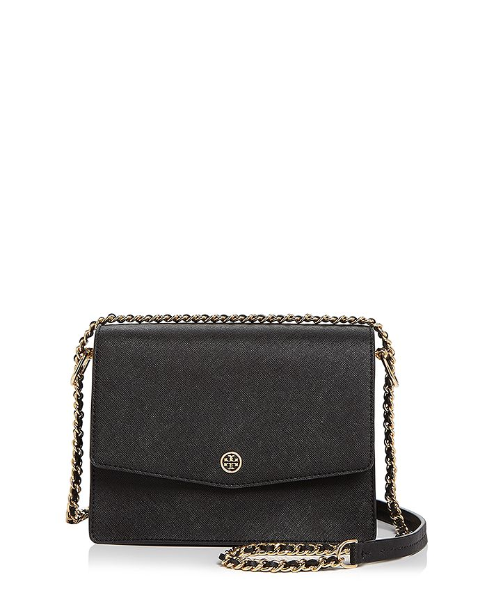 68bc8120e346b0 Tory Burch - Robinson Convertible Leather Shoulder Bag
