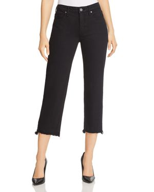 PARKER SMITH CROPPED STRAIGHT-LEG JEANS IN STALLION