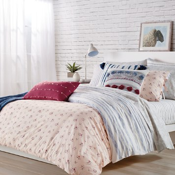 $Sparrow & Wren Floral Stripe Bedding Collection - 100% Exclusive - Bloomingdale's