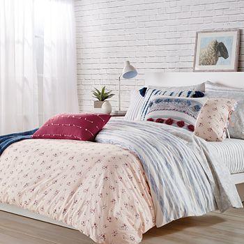 Sparrow & Wren - Floral Stripe Bedding Collection - 100% Exclusive