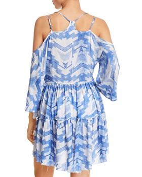 Surf Gypsy - Arrow-Print Dress Swim Cover-Up