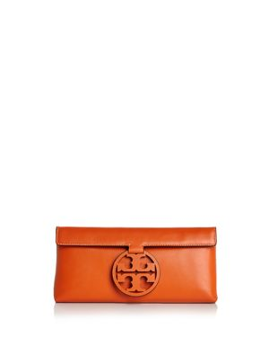 Tory Burch Miller Leather Clutch 3028863