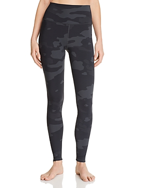 Alo Yoga Vapor High-Waist Camo Leggings