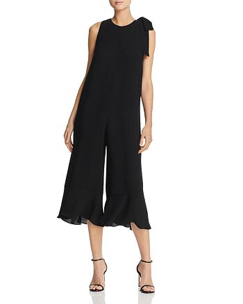 FRENCH CONNECTION - Hiva Cropped Wide-Leg Jumpsuit
